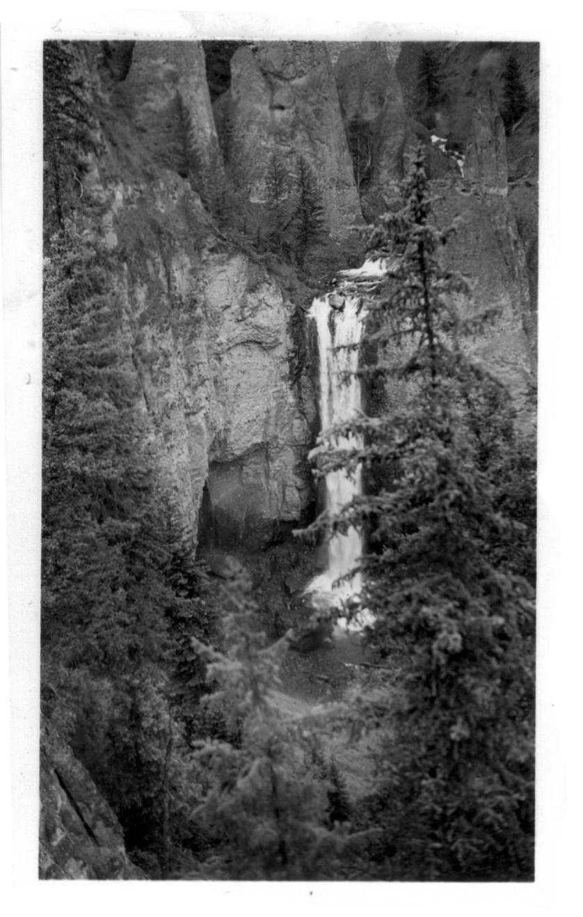Bridle Veil Falls.