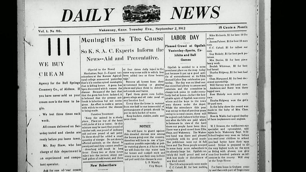 09-02-1912 Cover Horses Meningitis