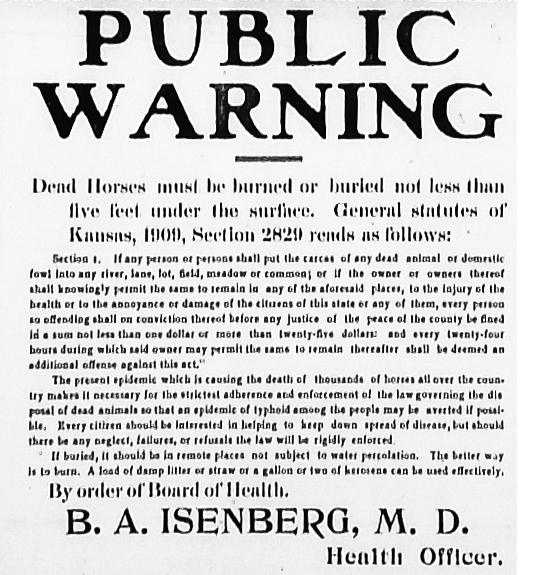 09-07-1912 Burning Horses