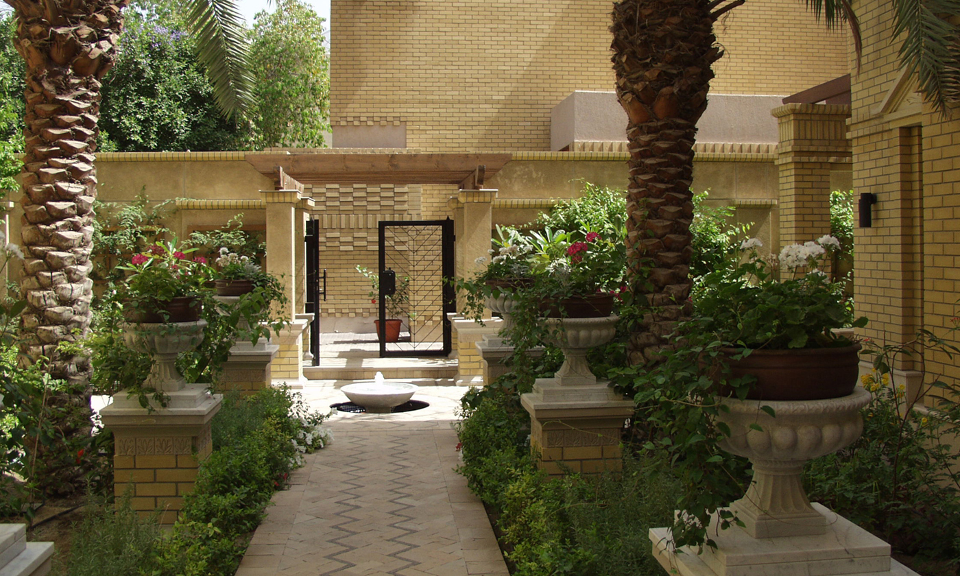 40north landscape architects and planners kuwait residence for Garden design kuwait