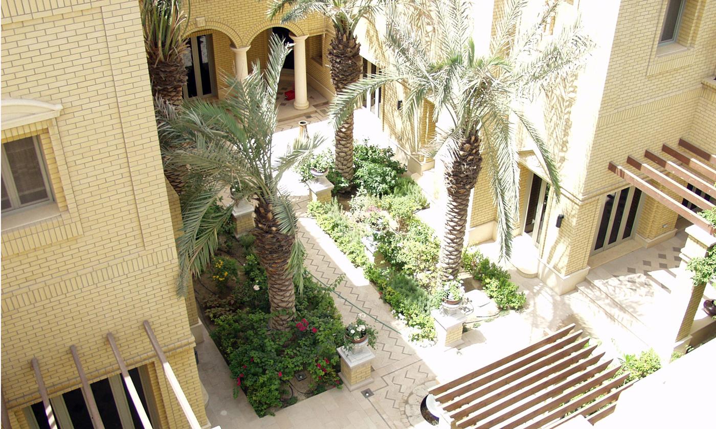 40NORTH Landscape » Kuwait Residence